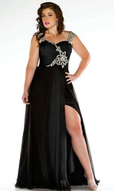 Classy prom dresses for plus sizes