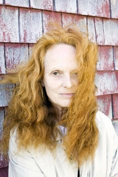 """Creative director of American Vogue, Grace Coddington at """"Each decade produces its own quota of fun. As one grows older, you have different needs and desires. But I liked the I had fun. A lot of fun. Grace Coddington, Vogue Uk, State Of Grace, Advanced Style, We Are The World, No Photoshop, Iconic Women, Glamour, Vogue Magazine"""