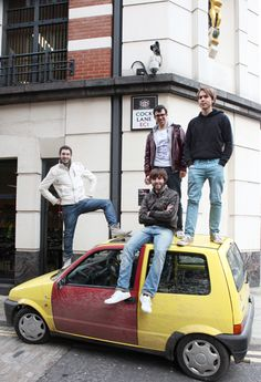 If I ever get a yellow car, a door will accidently come off.And turn red Comedy Tv Shows, Comedy Series, Movies Showing, Movies And Tv Shows, Series Movies, Tv Series, The Inbetweeners, Uk Tv, Yellow Car