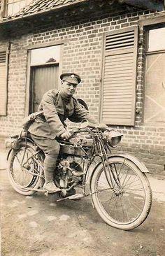 Douglas Motorcycle WW1