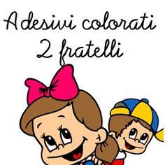ADESIVO FRATELLI A BORDO COLORATO DA ESTERNO, €10.90 Mario, Fictional Characters, Fantasy Characters