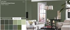 SW Rookwood Dark Green
