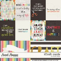 iCraft: CARDS by Studio Flergs