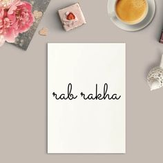 Rab Rakha Art Print or Framed – Beauty and The Button Meaningful Gifts, Meaningful Tattoos, Book Wrap, Spiritual Decor, Inspirational Wall Art, Wall Prints, Small Tattoos, New Homes, Button