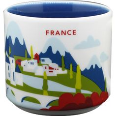 France | YOU ARE HERE SERIES | Starbucks City Mugs