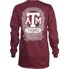Image for Three Squared Women's Texas A&M University Lattice T-shirt from Academy $26.99