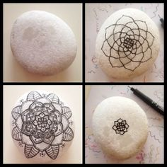 Drawing on  stone