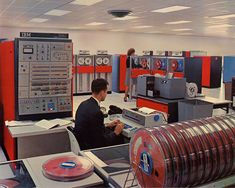 Photos: Looking back to the birth of the IBM mainframe