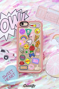 Patch Collection iPhone 6S Phone Case from our Throwback Thursday Collection, check it out here > https://www.casetify.com/throwbackthursday#/