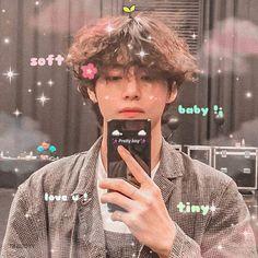 taehyung the cutest baby 👶🏻 V Bts Cute, Jungkook Cute, I Love Bts, Jhope Bts, Foto Bts, Bts Photo, Foto Twitter, Bts Kim, V Bts Wallpaper