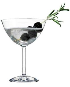 Olive-Rosemary Martini Recipe