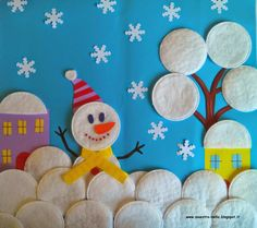 New Year's crafts for 2018 - 60 interesting ideas - Hooray! And this means that it's time to do New Year's crafts for This fascinating Kids Crafts, New Year's Crafts, Winter Crafts For Kids, Diy For Kids, Diy And Crafts, Arts And Crafts, Winter Art Projects, Projects For Kids, Winter Thema