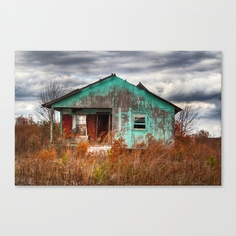 Lonely Old House on the Hill 2 by Allen Harkleroad; Society6