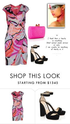 """Untitled #2270"" by carlene-lindsay ❤ liked on Polyvore featuring Emilio Pucci and Kayu"