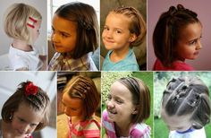 Beautiful short hair ideas for little girls! Cute Girls Hairstyles, Pretty Hairstyles, My Beauty, Hair Beauty, Amanda, Kylie Hair, Pretty Face, Your Hair, Fashion Beauty