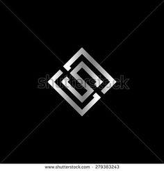 Vector logo with silver letter S in rotated square Sk Logo, Logo Branding, S Logo Design, Graphic Design, Find Logo, Logo Design Inspiration, Custom Logos, Vector Art, Cool Designs