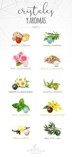 Cómo usar aromas y cristales - Parte I