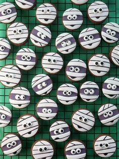 Mini Mummy Cookies