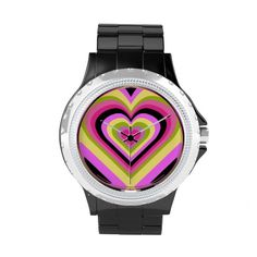 Shop Zazzle's selection of customizable Heart watches & choose your favorite design from our thousands of spectacular options. Rainbow Heart, Cool Patterns, Michael Kors Watch, Watches, Cool Stuff, Cute, Gifts, Money, Accessories