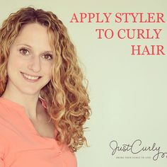how to apply styler to curly hair without destroying clumps