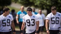My heart literally skips a beat whenever I see a picture of Luke Kuechly.....