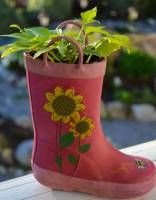Proven Winners   Rainy Day Rubber Boot Planters. Great Earth Day project for you and your little one!
