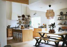 Before and After: An 80s Kitchen Gets a Modern Scandinavian Facelift