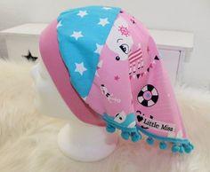 Kopftücher - *Kopftuch *Hafenkitz* für Mädchen *51-55 cm KU* - ein Designerstück von -Little-Miss- bei DaWanda