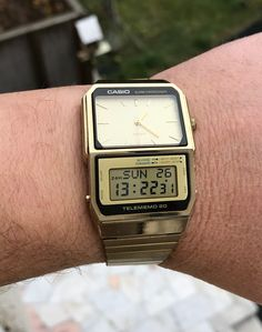 fc5df77f79a Casio AB-200 G from 1986 Retro Watches