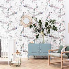 Nursery inspo by #mintycolab ♡ . Styled by @madelinemcfarlanestylist and shot by @francoisebaudet . . #kidsroom #kidsstyling #kidsroomstyle #kidsroomdecor #kids #nursery #cot #crib #childrensroom #interiordesign #style #design #kidspo #inspo #interiorstyling #nurseryinspo #wallpaper #babyroom #grandkids #bedroom #playroom #nursery #genderneutral #scandi #vintage #boho #brightkidsroom #nurserydesign #childrensroom #Regram via @www.instagram.com/p/CPfeP_SgQM9/ Nursery Room, Boy Room, Girl Nursery, Kids Bedroom, Toddler Rooms, Kids Rooms, Nursery Organization, Childrens Beds, Nursery Wallpaper