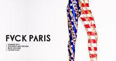 Go Team USA! - FVCK PARIS Leggings