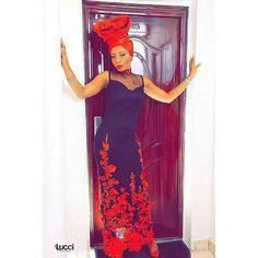 What do you think? pic via @asoebiafrica #gele #style #red #trad #geleinspiration