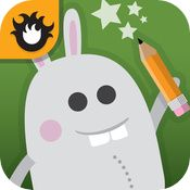 """Gappy's Mystery Letters is a charming letter drawing app with a fun mystery theme and coloring pages."""