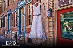 Wedding Dress | Wedding Venue | CBS Backlot | #weddingdress #weddingvenue #CBSBacklot #RandRCreativePhotography