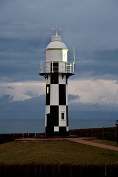 Port Shepstone Lighthouse - Port Shepstone is situated on the mouth of the largest river on the south coast of KwaZulu-Natal, South Africa, the Mzimkulu River (the great home of all rivers). 120 kilometres (75 mi) south of Durban,