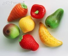 How to Make Marzipan Fruit