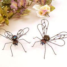Black Flies Two Handmade by SpiderwoodHollow on Etsy, $24.00