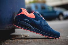 "Nike Air Max 90 PRM ""Brave Blue/Atomic Pink"""