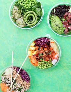 Like this pop of color Healthy Foods To Eat, Healthy Eating, Healthy Recipes, Restaurant Healthy, Manger Healthy, Resto Paris, Seasons Restaurant, Paris Food, Poke Bowl