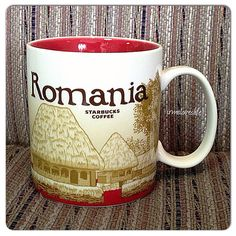 Romania coffee mug - starbucks ...