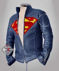 Superman Man of Steel Leather Jacket    http://www.celebsclothing.com/products/Man-of-Steel-Leather-Jacket.html    Buy Online Henry Cavill Man of Steel Jacket. Online Blue color Clark Kent Superman Leather Jacket for sale. Free Shipping Worldwide.