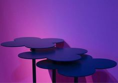 Violet corner from Salone del mobile completo at @isaloniofficial. Photo by Giulia Macchioni @jools.photos #domus #iedfordomus #iedfordomus_colors #SaloneDelMobile #milandesignweek