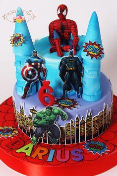 Tort Supereroi pentru Darius