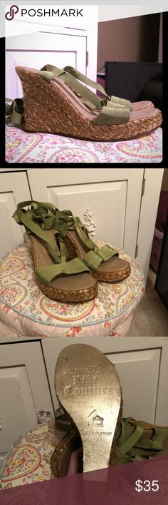Juicy Couture wedges Size: 39/9  NWOT Juicy Couture Shoes Wedges