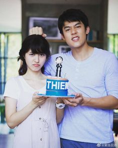 Movie Couples, Wedding Couples, Mark Prin, Thai Drama, Without Makeup, Sweet Couple, My World, Handsome, Husband