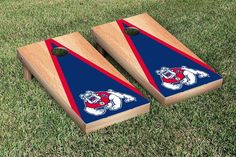 CALIFORNIA STATE ... http://www.757sc.com/products/california-state-fresno-bulldogs-regulation-cornhole-game-set-hardcourt-triangle-version-with-2-sets-of-4-team-color-bags?utm_campaign=social_autopilot&utm_source=pin&utm_medium=pin #nfl #mlb #nba #nhl #ncaaa #757sc