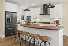 The Vanderburgh Kitchen, Drees Homes, Cincinnati and Northern Kentucky