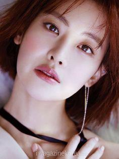 Oh Yeon Seo for Harper's Bazaar Korea June Photographed by Kim Oi Mil Korean Drama Stars, Korean Star, Korean Wave, Korean Beauty, Asian Beauty, Yoon Seo, Gong Seung Yeon, Oh Yeon Seo, Korean Artist