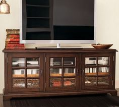 Holstead Windowpane Large Media Console - it would go nicely in my home.