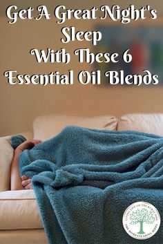 Aromatherapy can be powerful! Try these 6 essential oil blends to help you get a good nights sleep! The Homesteading Hippy via @homesteadhippy